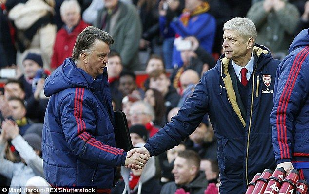 But The Arsenal Boss (right) Pointed Out That Louis Van