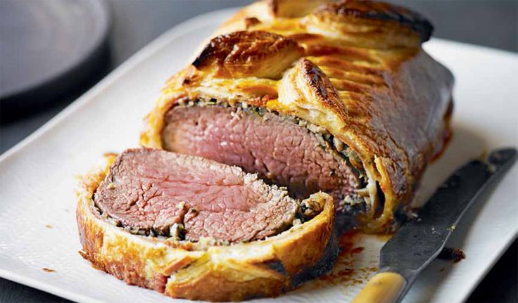 Waitrose recipes for a retro dinner party...Boeuf en croute Italian style