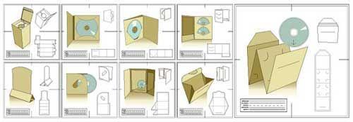 30 Packaging Template Designs as Free Vector Files