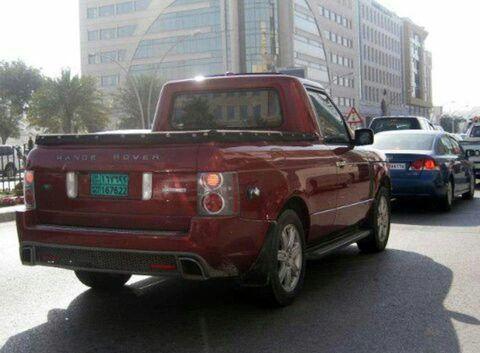 RangeRover pickup