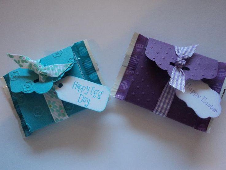 Les porteurs Traiter Ghirardelli Pâques festonné Tag Topper Punch de porter candee - Cartes et Métiers du papier à Splitcoaststampers