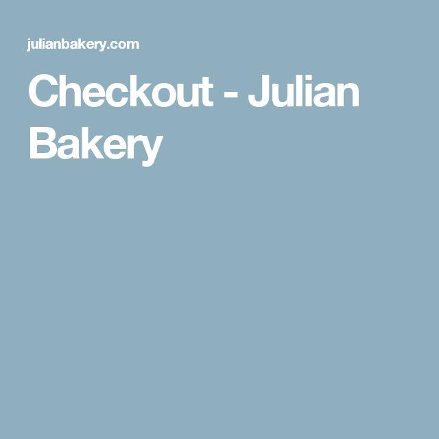 Checkout - Julian Bakery