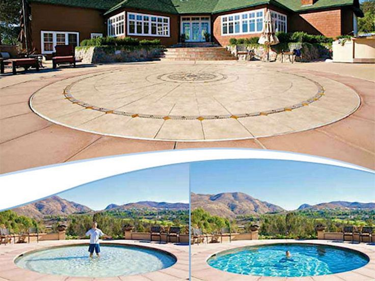 1000 Ideas About Hidden Water Pool On Pinterest Pool Cost Hidden Pool And Hidden Swimming Pools