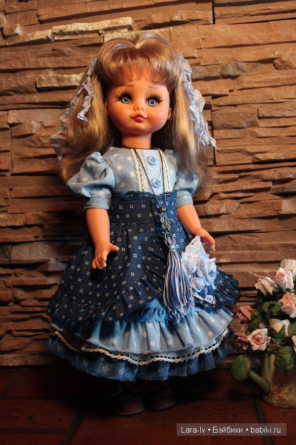 Второе рождение винтажной немочки. / Одежда и обувь для кукол - своими руками и не только / Бэйбики. Куклы фото. Одежда для кукол