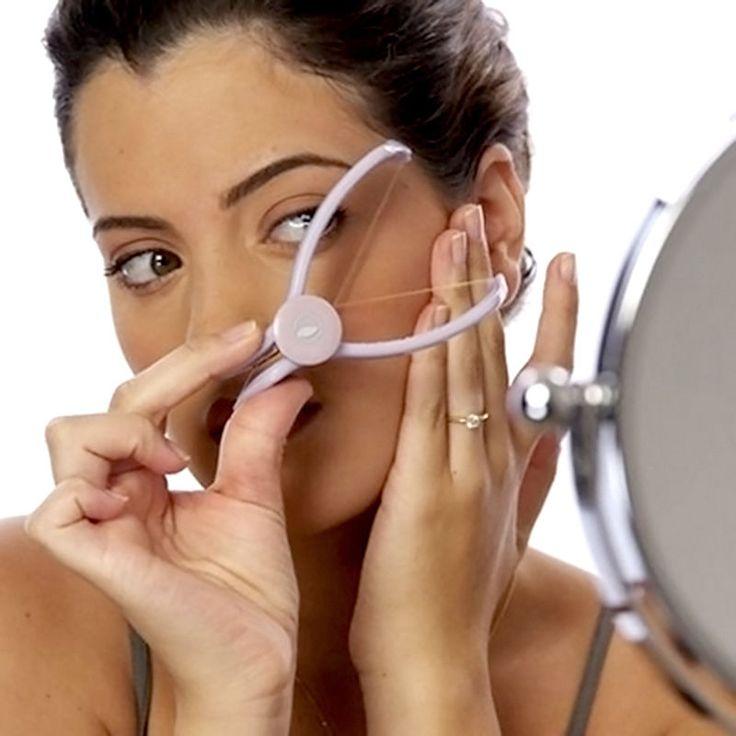 Wajah Epilator Hair Removal Tubuh Threader Sistem Spa Wajah Makeup Kecantikan Alat Bermuatan untuk Wanita Gadis Tubuh