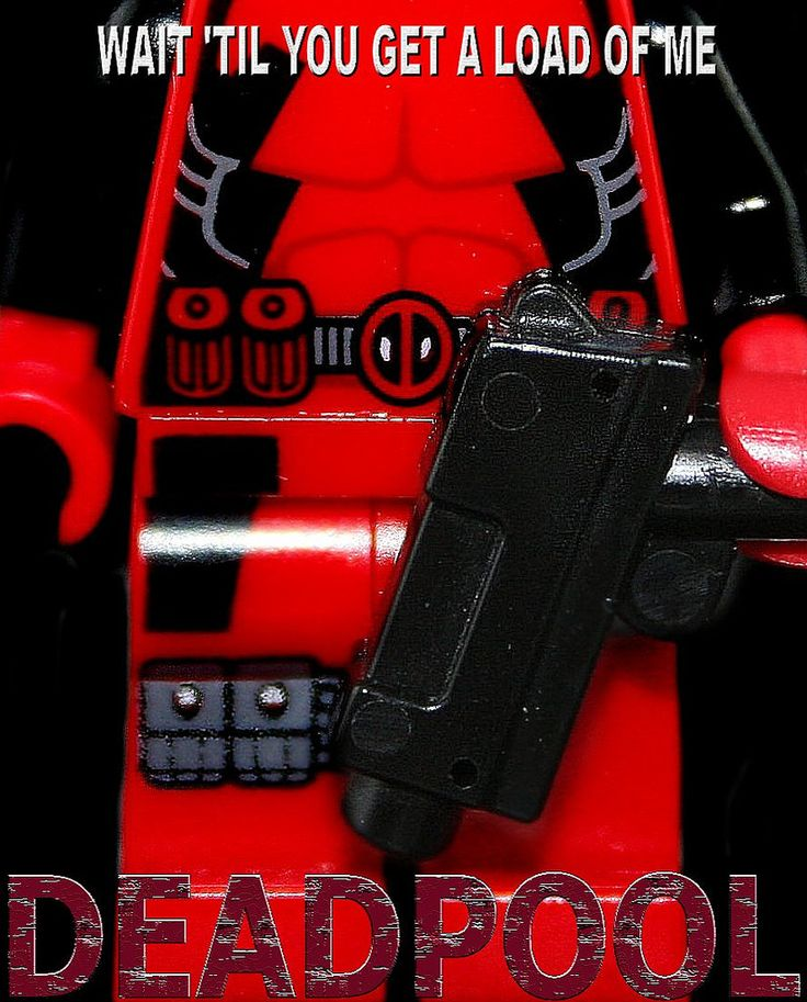 https://flic.kr/p/D8sj74 | Lego Deadpool Poster | Made By Yours Truly