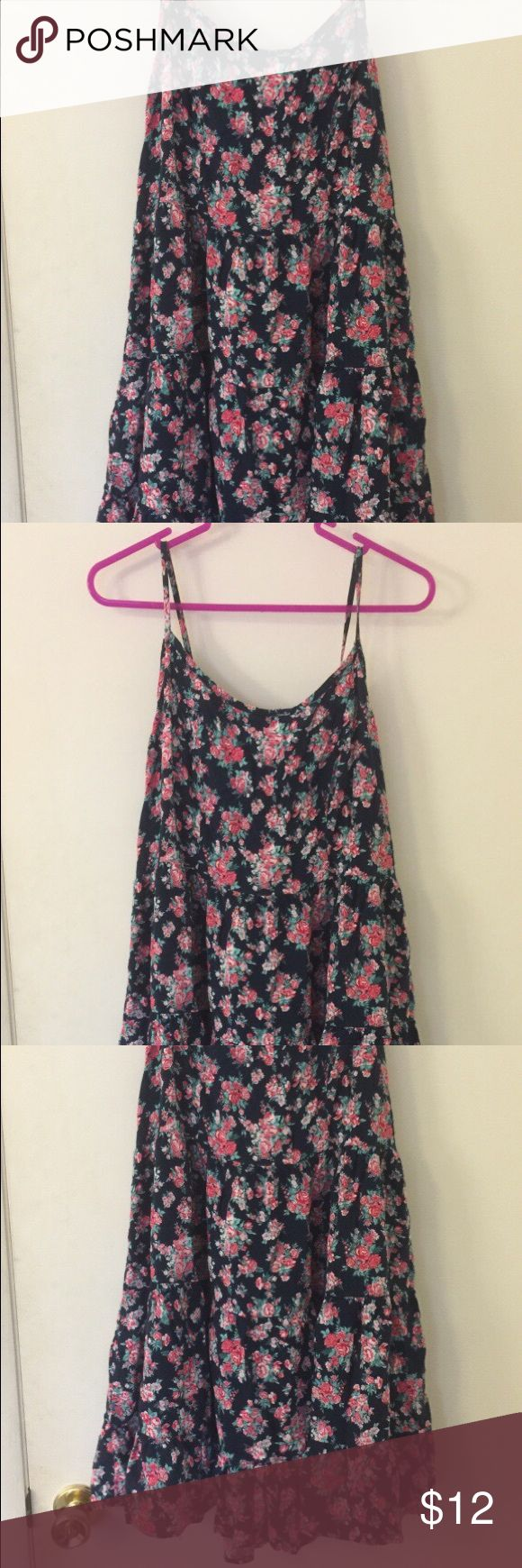 Forever 21 plus size floral cami dress Forever 21 plus size floral cami dress. Size 1X. Zip back and self-tie above zip area. Forever 21 Dresses Mini