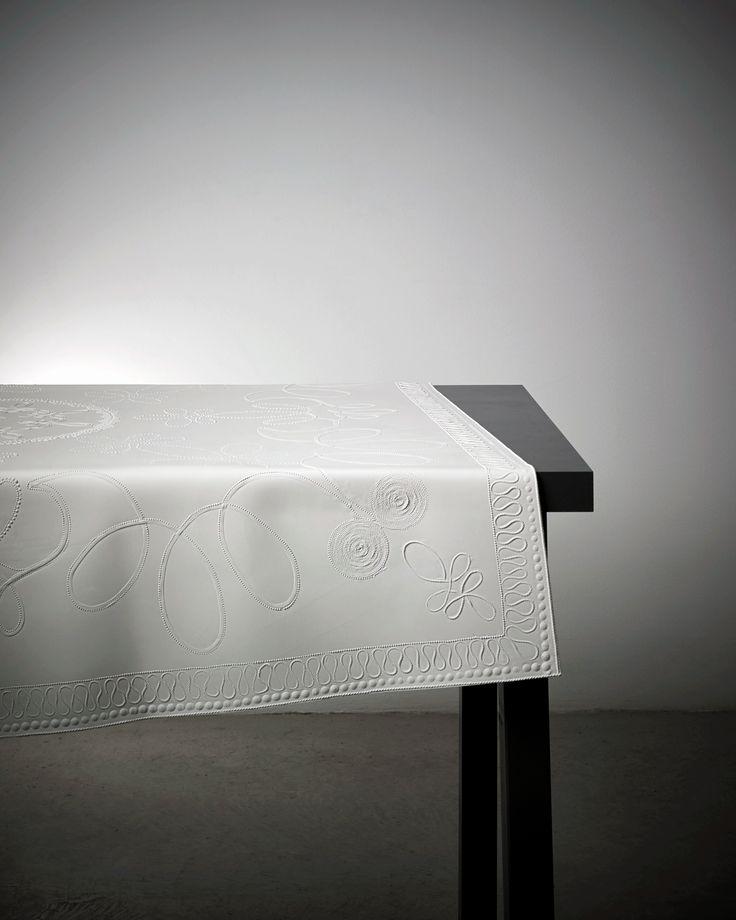 Rubber tablecloth by deJongeKalff.
