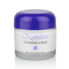Kandesn® Cleansing Cream is naturally mild and ideal for removing oil-based surface impurities and makeup. It is the first step in the Kandesn®Basic Skin Care Regimen.  With a blend of herbal extracts that moisturize while cleansing, Kandesn®Cleansing Cream effectively cleanses without stripping the skin of its natural moisture. It's formulated with a slightly acidic pH to harmonize with the skin.