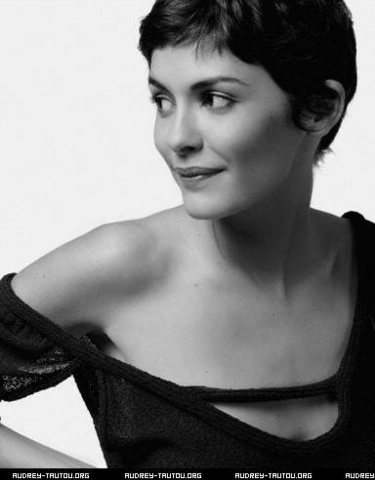 Audrey Tautou | Actors and actress | Pixie haircut, Short ...