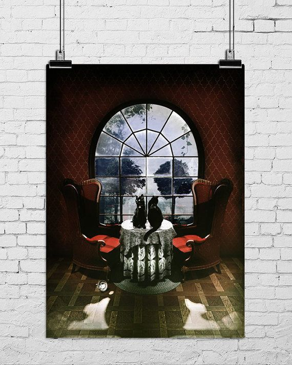 Room Skull Poster by ikiikishop on Etsy