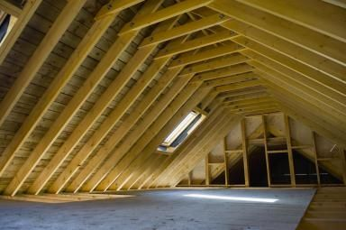 this is what i want the rebuilt attic to look like...nice and clean and high rafters