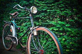 자전거, 늙은, 바퀴, 2 륜 자동차, 노스탤지어, 향수, 사이클링