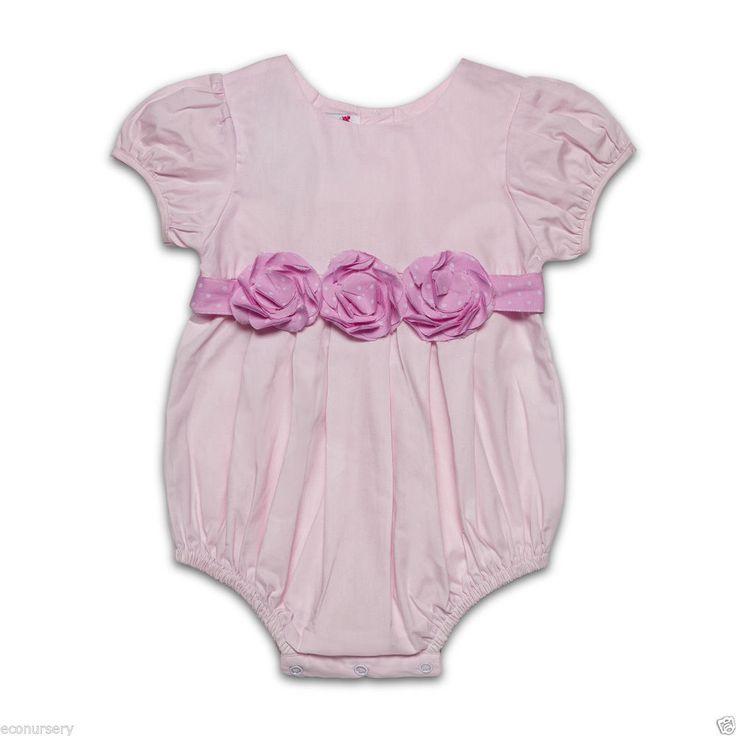 Aurora royal pink cotton bubble puff short sleeves