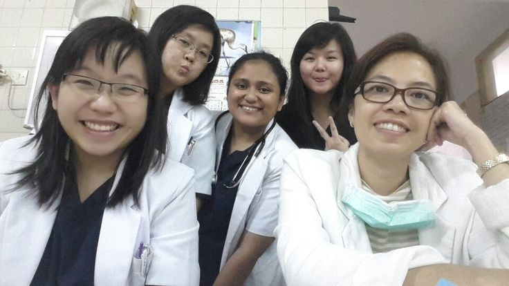 They're my team and my bysitter at internis... dr. Betsy...