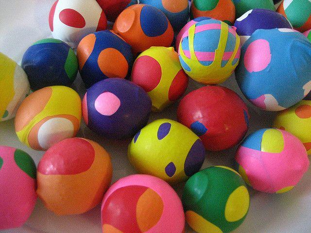 Home-made stress balls