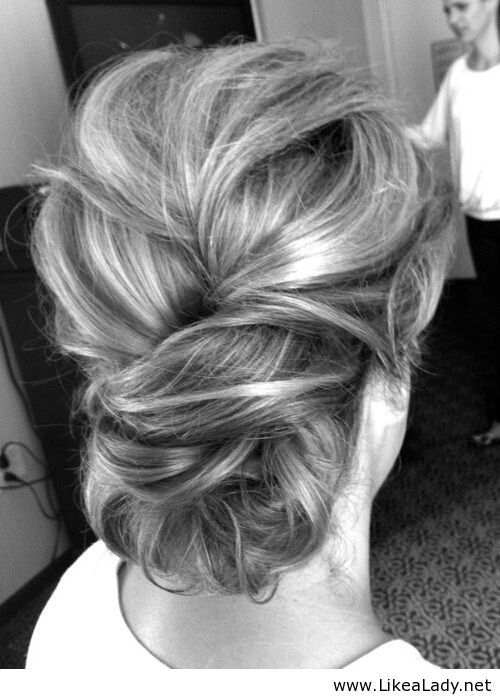 This is a great updo for a special occasion.