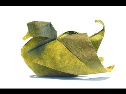 How to Make a paper Duck, origami