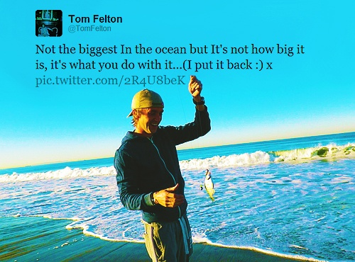 in which #tomfelton is the cutest thing ever.