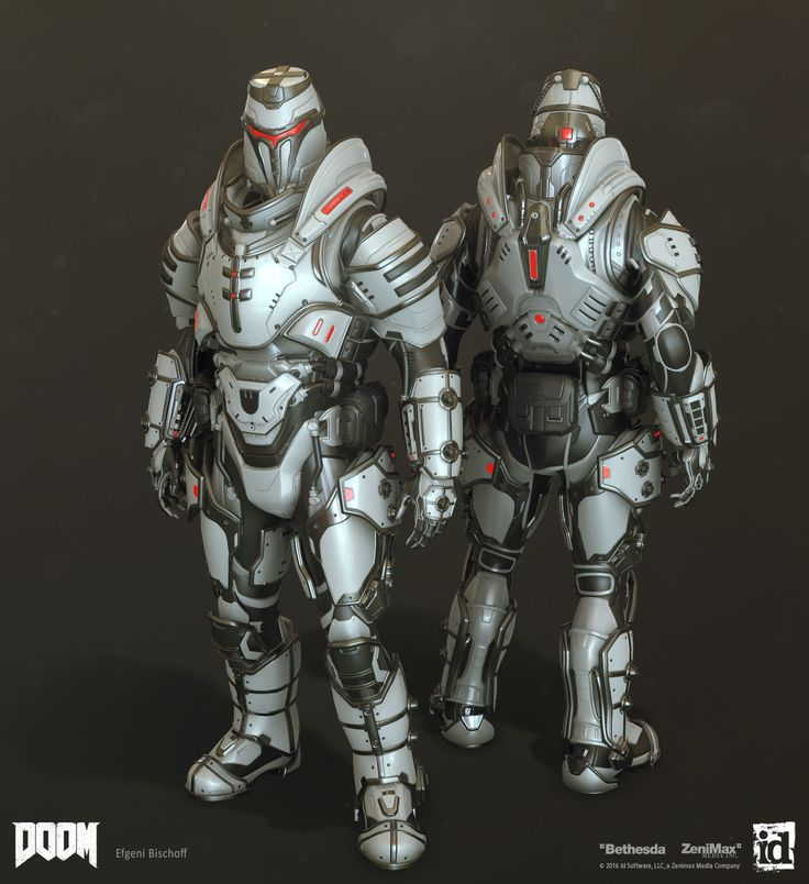Doom: MP Sets - Highpoly - by Efgeni Bischoff