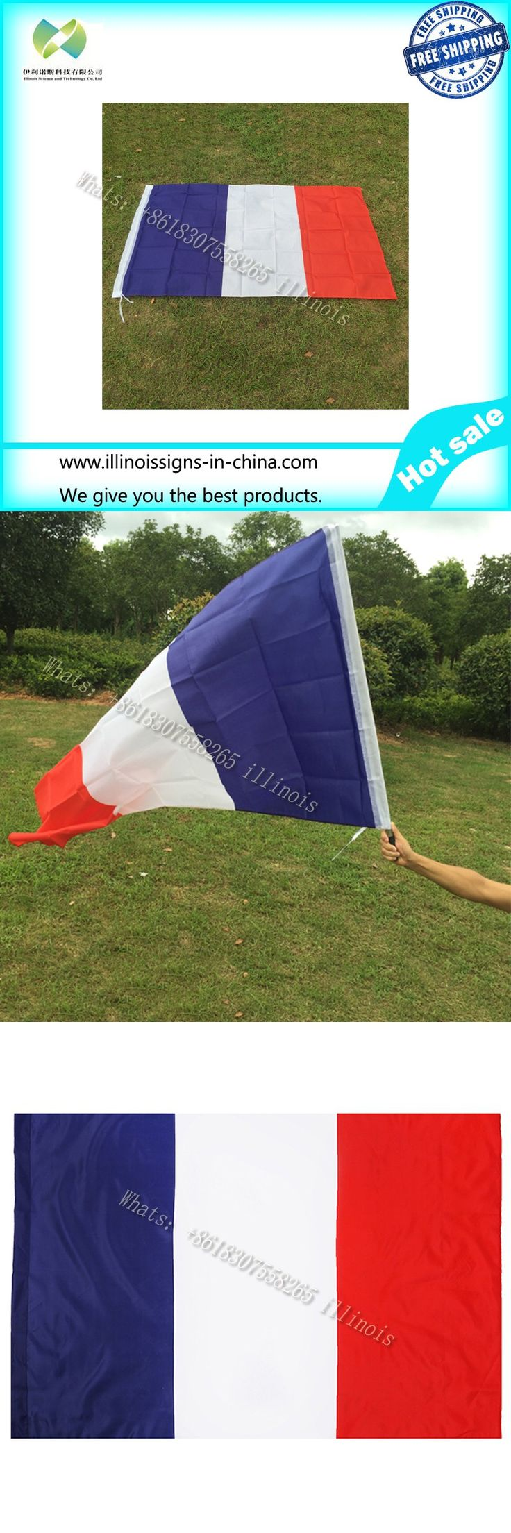 New Feet Large Polyester French Flag the France National Flags Home Decor $6.99