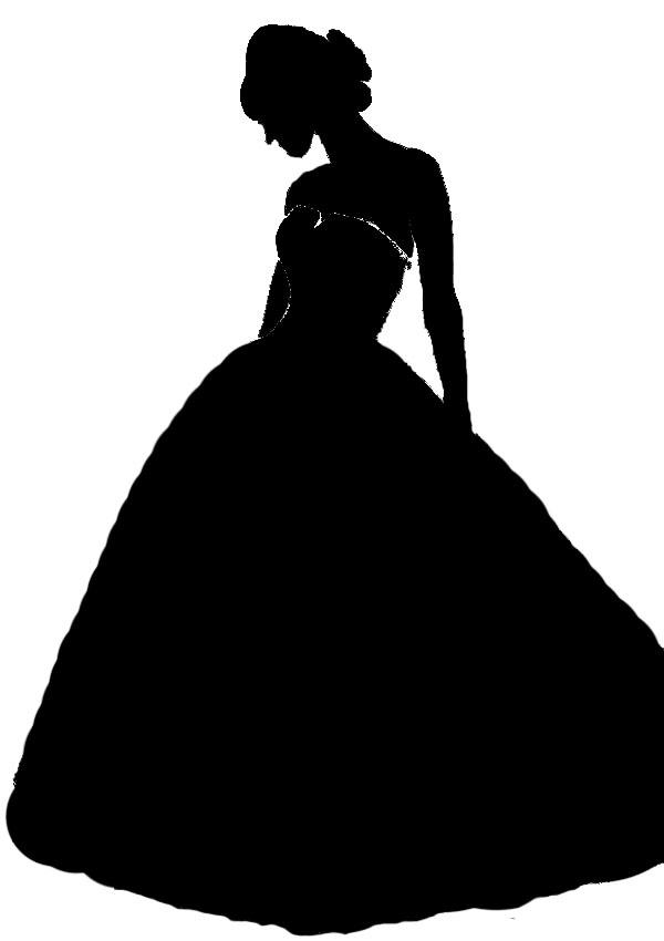 wedding dress silhouette   Wedding   Pinterest