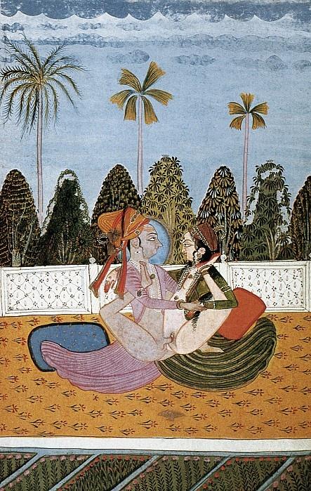 Kama Sutra, 18th Century painting