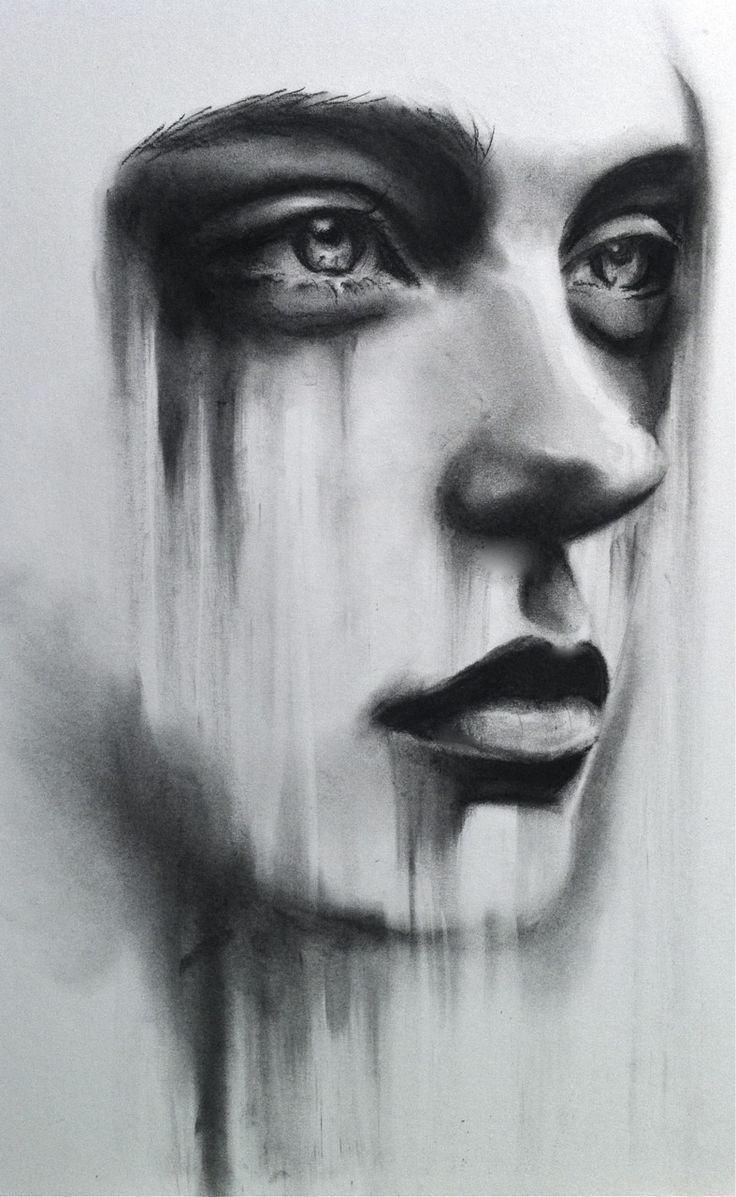 Womans face. by ~ LizzieBishop