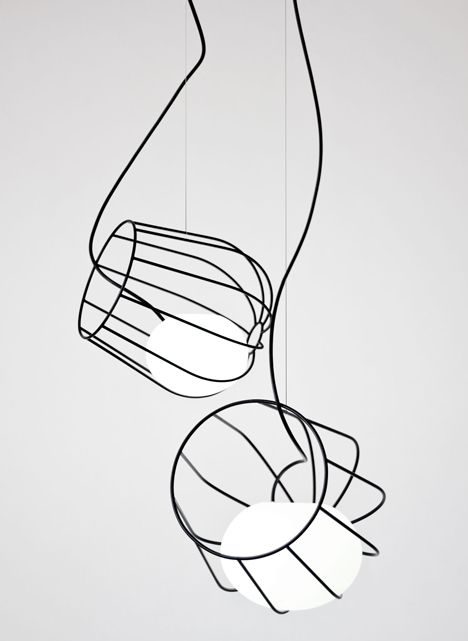 Light Container pendant lamps by Martín Azúa #design