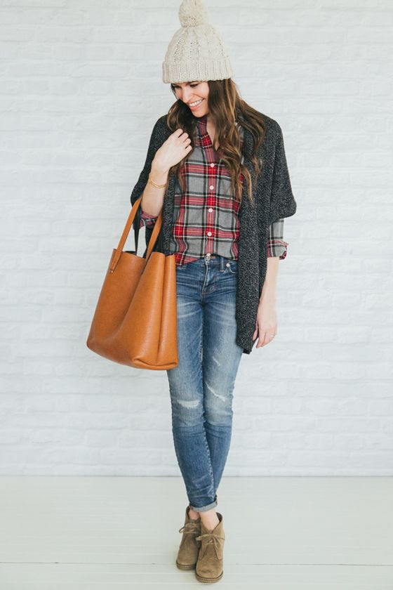 WANTED: a cozy thick cardigan for layering (like this one from unfancy, but with long sleeves)