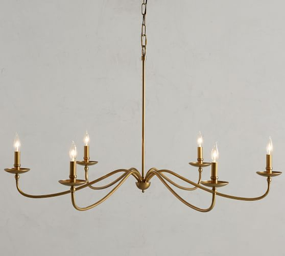Lucca Chandelier In 2020 Dining Room Light Fixtures