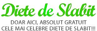 Doar aici, Absolut Gratuit cele mai celebre Diete de Slabit, Regimuri de Slabit, Exercitii de Slabit, Retete de Slabit si Produse de Slabit eficiente!