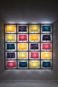 Wall Lamp Parecchi Big Chrome