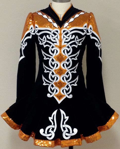 Irish Dancing World's Boston Celtic Star See more. Dance jumps Dancing girls Dance photos Dance Images Dance pictures BALLET & Dance Dance, dance, Prime Dress Designs Irish Dance Solo Dress Costume - we love the row of lage sew-on crystals in Crystal AB down the front of this spectacular dress.