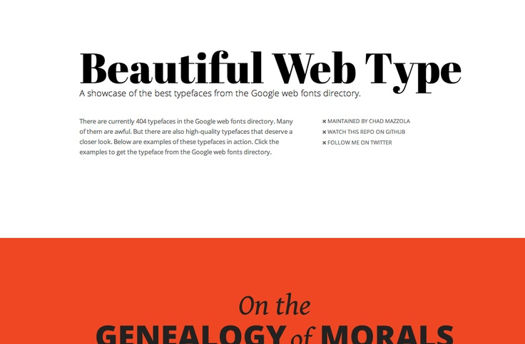 Best of google web fonts