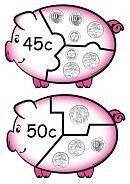 Primary School Maths - Money Games Puzzles