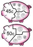 Primary School Maths - Money Games Puzzles