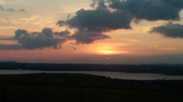 Broody sunset