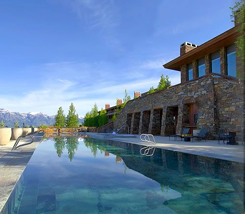 The Aman resorts look amazing and Jackson Hole has been on my list forever.