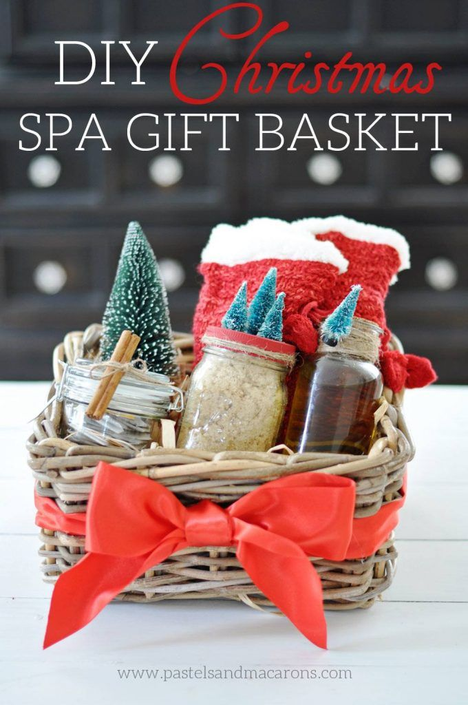 281 best diy gift ideas images on pinterest crafts hand made diy spa gift basket the perfect handmade christmas gift solutioingenieria Image collections