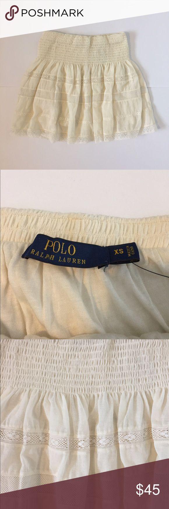 Polo Ralph Lauren Crochet Skirt Brand new with tags. Never worn. Beautiful crochet detail! Polo by Ralph Lauren Skirts
