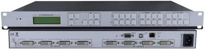 4x4 DVI and HDMI Quad Screen Multiviewer and Video Wall Processor designed for image analyzing processor with 4 DVI input ports and 4 output ports.Its used for mix inputs with any combination into one image, and then display that to any or all the outputs.  Call us for more information (866) 865-7737) http://www.kvmswitchtech.com/4x4-dvi-and-hdmi-quad-screen-multiviewer-and-video-wall-processor-p50517.htm