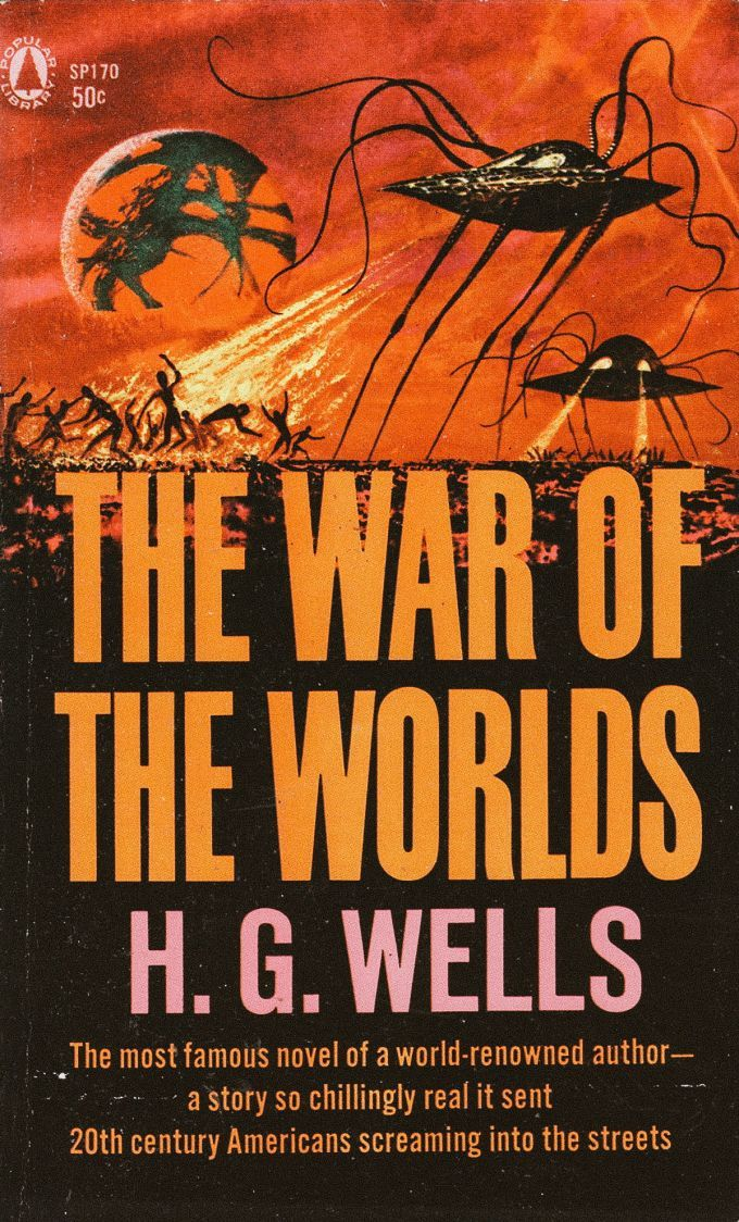 War Of The Worlds Alien Book