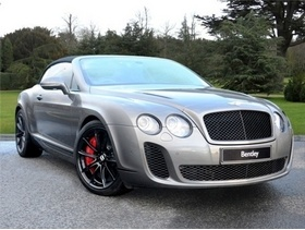 Bentley Continental, 2011, Automatic Petrol, 5,700 miles in Leicester - Is that Alan Sugar in there???