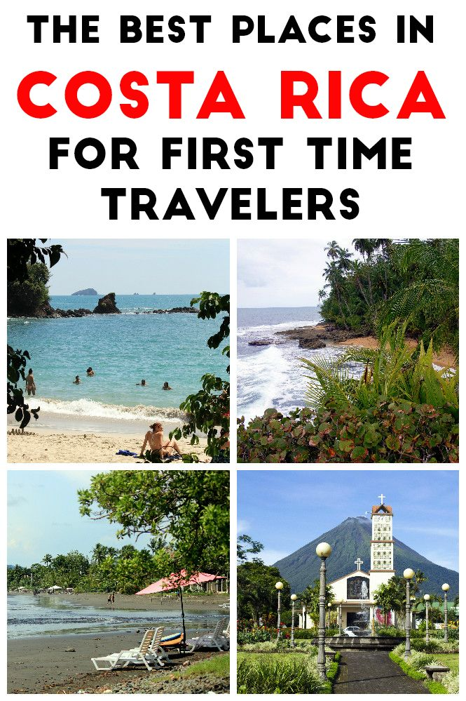 The 10 best places in Costa Rica for first time travelers. All of these destinations are easily accessible, are tourist friendly and have plenty of activities for solo, couple and family travelers. Click through to read more http://mytanfeet.com/costa-rica-travel-tips/best-places-in-costa-rica/