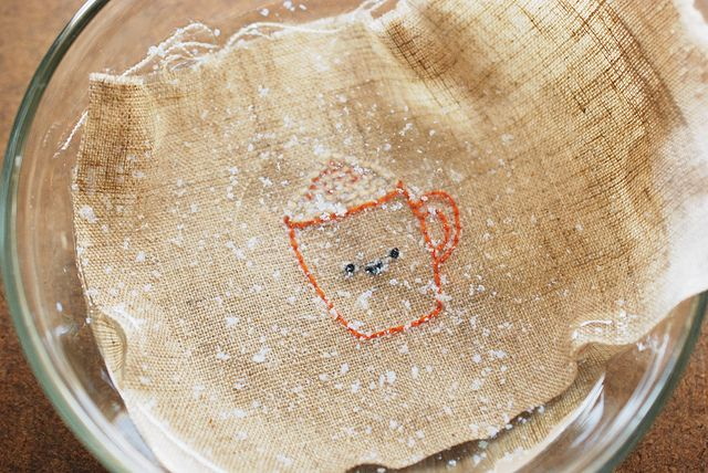 Stitching with Water-Soluble Paper