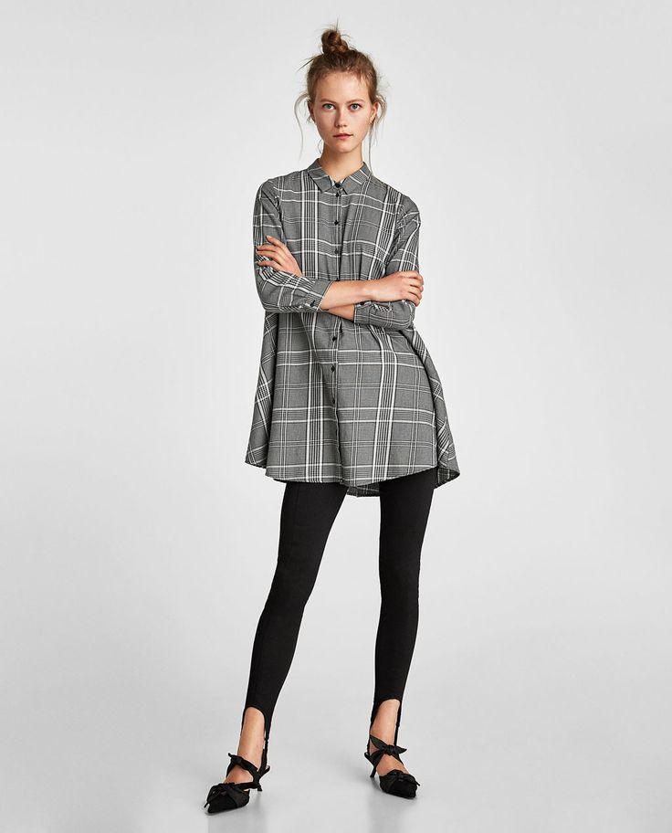 CHECKED MINI DRESS-View all-DRESSES-WOMAN   ZARA United States