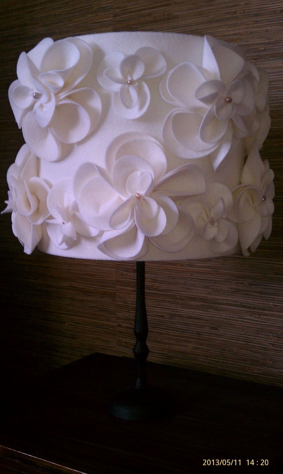 Hand made Lamp Shade by alaVeronica on Etsy, $68.00