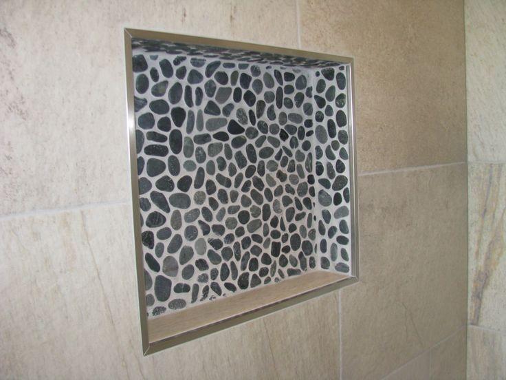 Badkamer kiezeltjes grijs
