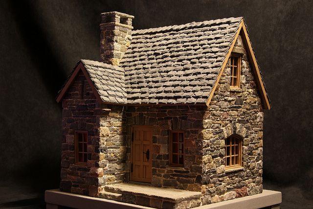 miniature stone cottage   pedro davila   Flickr